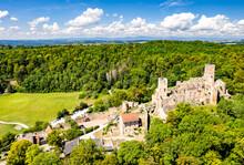 Roetteln Castle In Loerrach - The Black Forest, Baden-Wuerttemberg, Germany