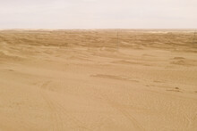 Dryness Land With Erosion Terr...