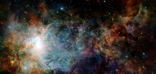 Galaxy Cluster. Elements Of Th...