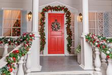 Christmas Porch Decoration Ide...