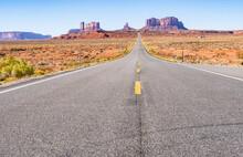 Scenic Roadway Through Large B...