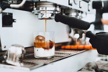 Make Coffee From The Machine,T...