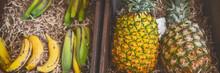 Organic Fruits At Farmer's Mar...