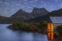 Star Trails Over Cradle Mounta...