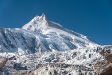 Manaslu Mountain Peak, Eighth ...