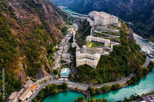 Forte di Bard Aosta Italy Avengers Age of Ultron Castle Canvas Print