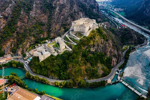 Photo Forte di Bard Aosta Italy Avengers Age of Ultron Castle