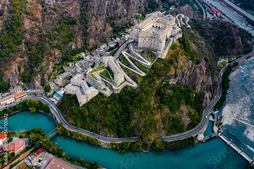 Fotografía Forte di Bard Aosta Italy Avengers Age of Ultron Castle