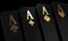 Black Casino Cards Aces