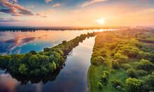 Exotic Summer Scene Of Ukraini...