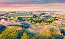 View From Flying Drone. Impres...