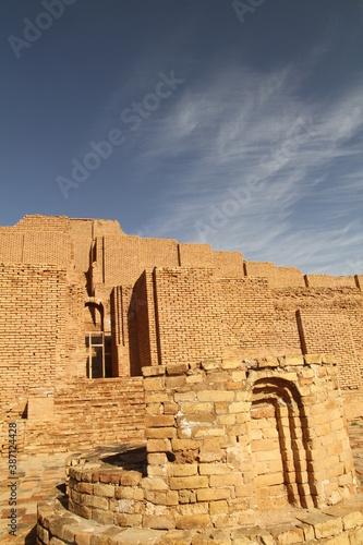 ChoghaZanbil Ziggurat (Çoğa Zenbil) Fototapeta
