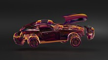Car Digital Future Mobile 3d D...