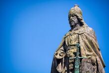Güstrow, Deutschland - Statue...