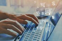 Shopping Online Concept, Buy On Internet, E-commerce