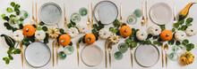 Fall Table Setting For Celebra...
