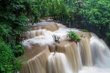 Huay Mae Khamin Waterfall In K...