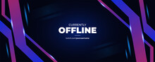 Modern Abstract Twitch Background Design