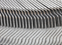 Steel Plates With The Same Form, Beautiful Backgrounds