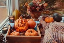 Halloween Cozy Mood Compositio...