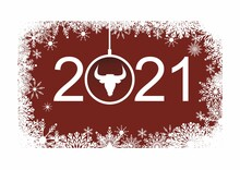 Happy New Year 2021 Greeting C...