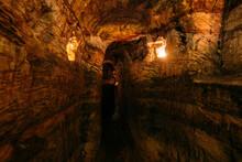 Ancient Narrow Underground Pas...