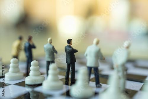 Business, Teamwork Concept Fotobehang