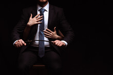Businessman Man In A Dominant ...