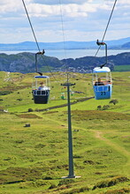 Cable Car On The Great Orme, Llandudno
