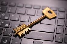 Key On The Computer Keyboard