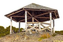 Vieux Kiosque Du Maïdo, île ...