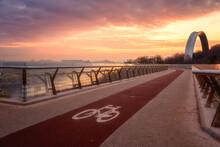 Pedestrian And Bicycle Bridge ...