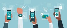 Electronic Cashless Payments And Secure Transactions