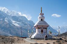 Buddhist Stupa Temple With Ann...