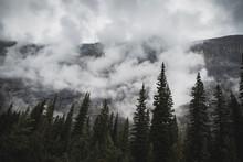 Wolken Vor Berge