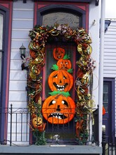 United States, Louisiana, New Orleans (NOLA), Halloween Decoration