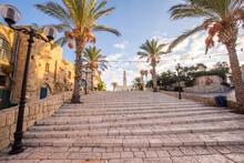 Port Of Old Jaffa In Tel Aviv, Israel