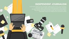 Independent Journalism Flat Ba...