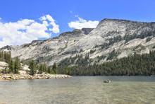 A View Of Tenaya Lake In Yosemite National Park
