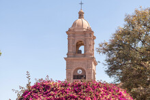 Bell Tower Of The Church