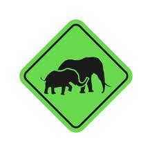 Design Of Elephant Sign