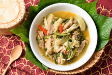 Northern Thai Food (Kaeng Khae), Local And Cultural Food That Is Unique Of Thailand