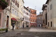 Streets in Pula, Istria, Croatia. October 2016