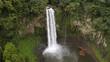 五老ヶ滝の空撮
