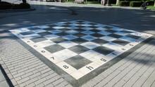 A Close Up Of A Big Chess Tabl...