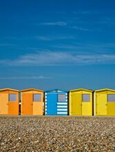 Beach Huts At Seaford