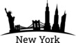Vector illustration of the New York City skyline
