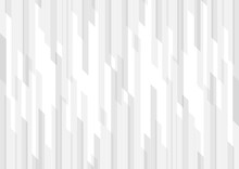 Abstract White And Gray Geometric Vertical Stripes Background And Texture