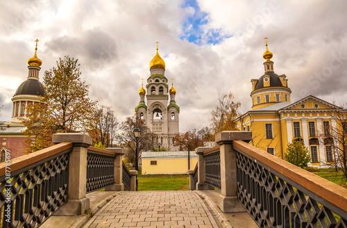 Photo Temples of the spiritual center of the Old Believers in Rogozhskaya Sloboda