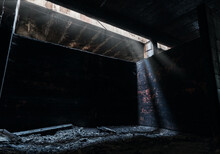 Abandoned Bomb Shelter After T...
